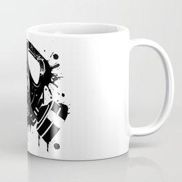 Gas mask graffiti Coffee Mug