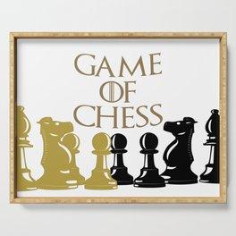 Juguemos ajedrez Serving Tray