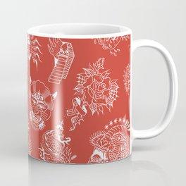 TRADITIONAL TATTOO PATTERN (COLORED) Coffee Mug