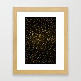 Charter gold Framed Art Print