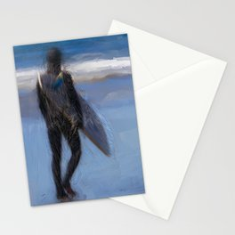 Waiting for the Wave Stationery Cards