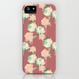 Painted Roses by Katrina Ward iPhone Case
