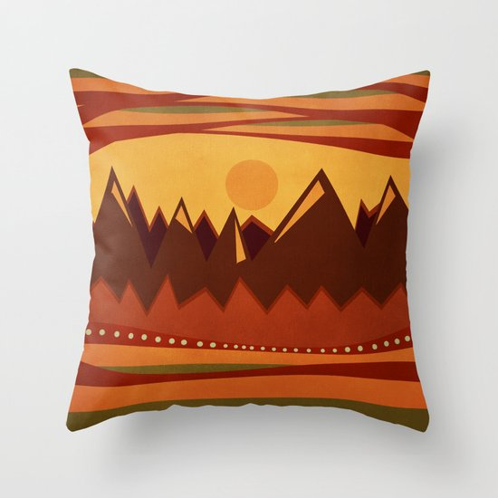 Textures/Abstract 118 Throw Pillow
