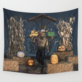 Scarecrow Reaper Wall Tapestry