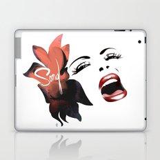 Bombshell Series: Song - Billie Holiday Laptop & iPad Skin