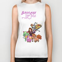 lydia martin Biker Tanks featuring PokeWolf: Lydia Martin by Trickwolves