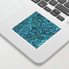 Abalone Shell | Paua Shell | Cyan Blue Tint Sticker
