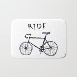 bike ride Bath Mat