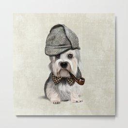 Sir Dandie Dinmont Terrier Metal Print