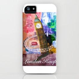 London Hoop iPhone Case