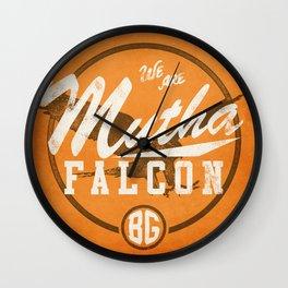 MF-ing BG Wall Clock
