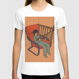 At the top of the stairs T-shirt