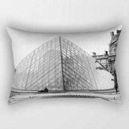 Pyramide de Louvre Rectangular Pillow