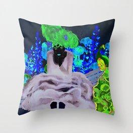 Lady Siri Throw Pillow