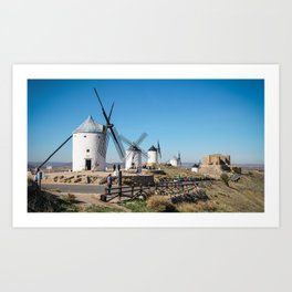 Windmills of Consuegra Art Print