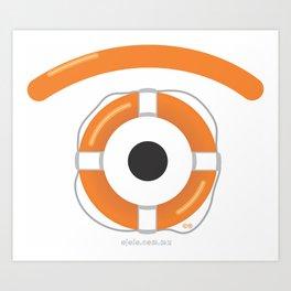 l.eye.fsaver Art Print