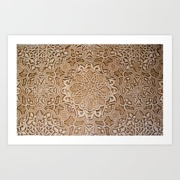 Alhambra lace Art Print