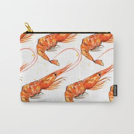Prawn Pattern Carry-All Pouch