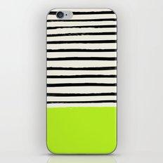 Electric Pineapple x Stripes iPhone Skin