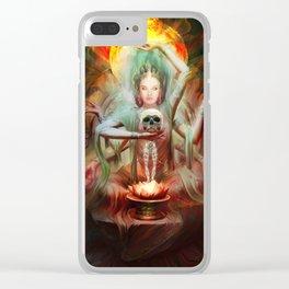 Tara Bodhisattva Clear iPhone Case