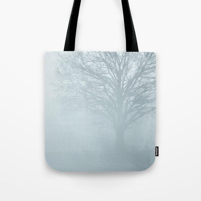 Tree / Winter Silence Tote Bag