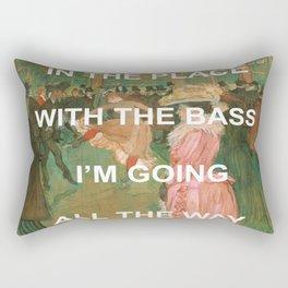 Pass The Moulin Rogue  Rectangular Pillow