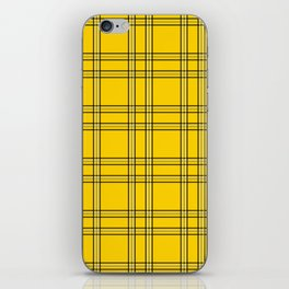 Clueless Plaid iPhone Skin