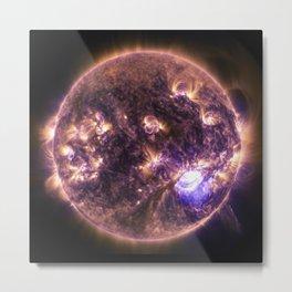 solar flairs Metal Print