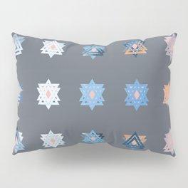 Triniti Snow Crystal Grey Pillow Sham