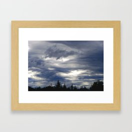 Haines Sky Framed Art Print