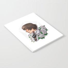 Lady | White Rose | DMC5 Notebook