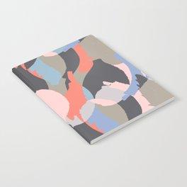 Modern abstract print Notebook