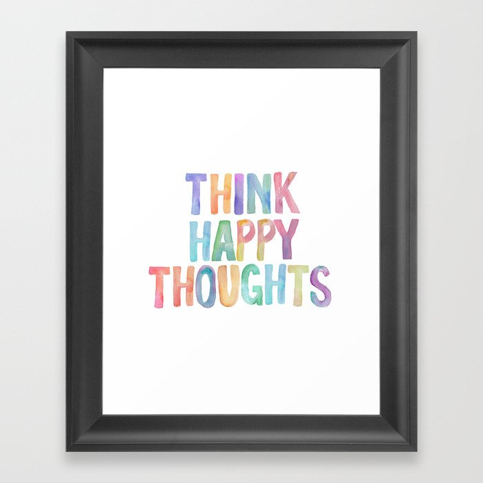Think Hy Thoughts Nursery Wall Art Kids Room Printables Baby