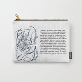 Anxiety Poem Carry-All Pouch