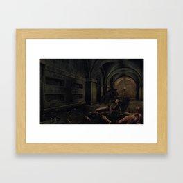 man killer Framed Art Print