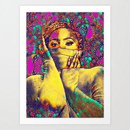 Xcentric Art Print