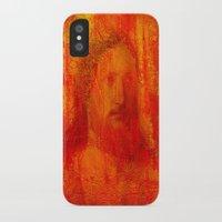 jesus iPhone & iPod Cases featuring Jesus by Joe Ganech