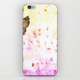 butterfly's breathe iPhone Skin