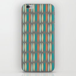 Contemporary Mid-Century Modern Geometric Pattern iPhone Skin