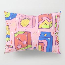 Juice Box Print Pillow Sham