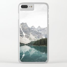 Moraine lake Clear iPhone Case