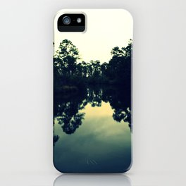 Reflection Swamp iPhone Case