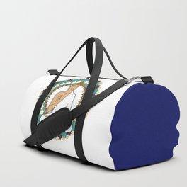 Mandala Abhaya Mudra Buddha Duffle Bag