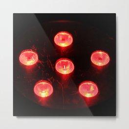 Fire Lights Metal Print