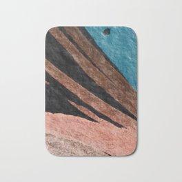 Dark Grace [2]: an abstract watercolor by Alyssa Hamilton Art Bath Mat