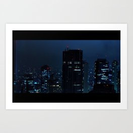 Lost in Translation - Tokyo Blues Art Print