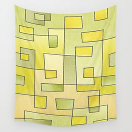"Proto pattern n 2 ""fresh lemonade"" Wall Tapestry"