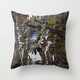 Roman Impression Throw Pillow