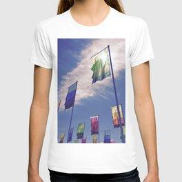 Flock of Flags T-shirt