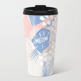 meow (wild cats)  Travel Mug